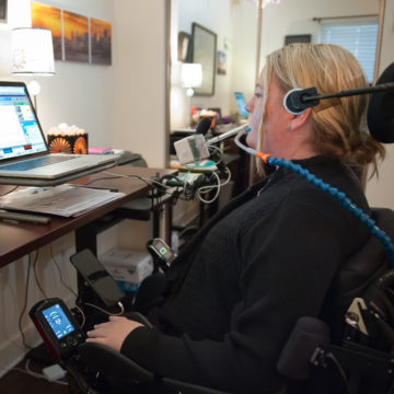 Craig Hospital's Assistive Technology lab provides the latest software and technology on the market so we can better assist our patients to be safe and independent.