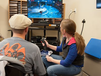 Craig Hospital Assistive Technology Department helps patients find gaming options and equipment that best meet their interest and abilities