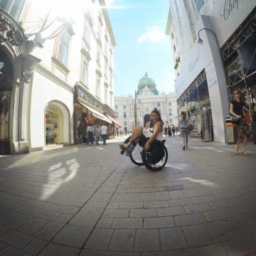 Craig Grad Alysia Kezerian shares her experience traveling around Europe after her spinal cord injury
