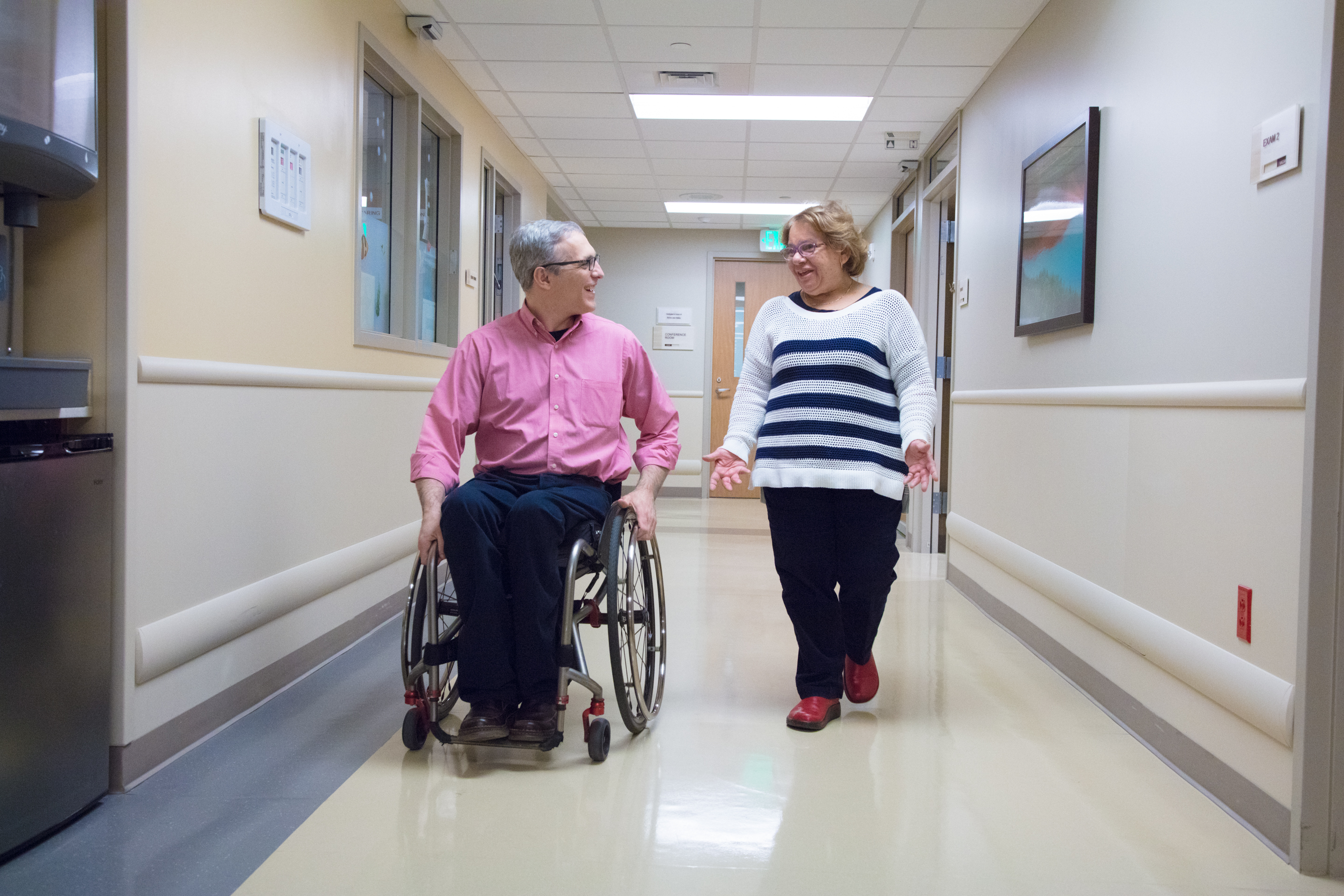 Craig Hospital's Dr. Scelza chose to become a spinal cord injury expert after recovering from his own personal experience with a spinal cord injury