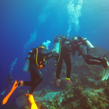 Craig Hospital's Therapeutic Recreation Adventure Programs allows patients and grads to experience activities like scuba diving.