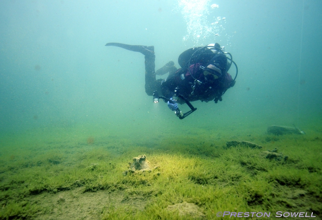 George Watson, former Craig Hospital spinal cord injury patient, scuba diving as he returns to the site of his accident three years after his injury
