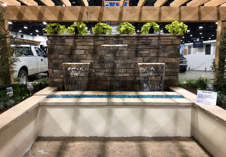 Accessible Design Water Feature at the 2019 Colorado Garden and Home Show