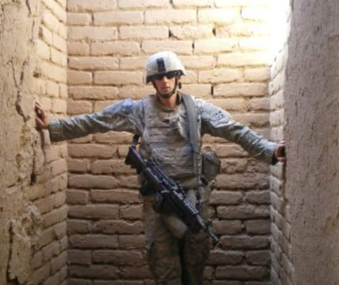 Operation TBI Freedom Client Matthew Spang in Afghanistan