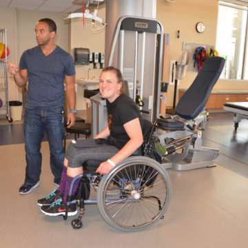 Megan Wemmer Recovering From Spinal Cord Injury at Craig Hospital