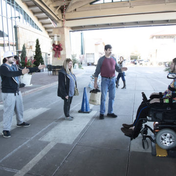 Craig Hospital Spinal Cord Injury Patients Going Holiday Shopping