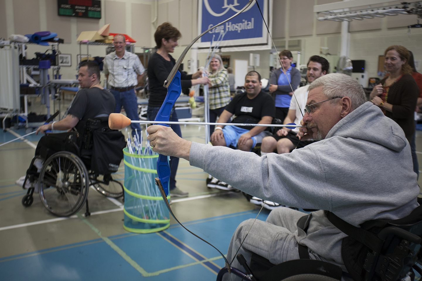 Craig Hospital | Spinal Cord Injury Rehabilitation Patient Participating in Therapeutic Recreation
