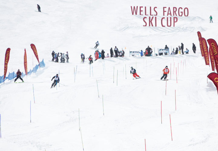 Tom Carr skis on Craig team at 2018 NSCD Wells Fargo Cup where Craig announces partnership to further adaptive sports and recreation community.