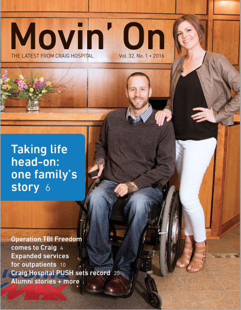 Craig Hospital's Movin' On Summer 2016 Edition