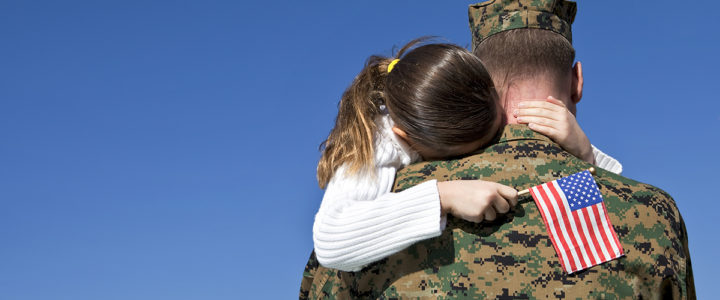 Soldier With Daughter | Operation Traumatic Brain Injury (TBI) Freedom at Craig Hospital