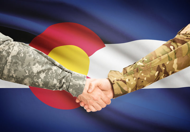Soldiers Shaking Hands | Operation Traumatic Brain Injury (TBI) Freedom at Craig Hospital