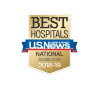 U.S. News and World Report announced today that Craig Hospital has been ranked a top 10 rehabilitation hospital in the U.S. for the 29th consecutive year.