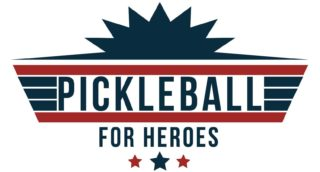 Pickleball for Heroes Tournament Logo