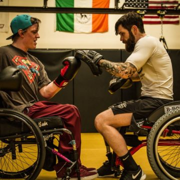 Connor Walsh Boxing and Continuing to Learn How to Walk Again After Spinal Cord Injury Rehabilitation at Craig Hospital