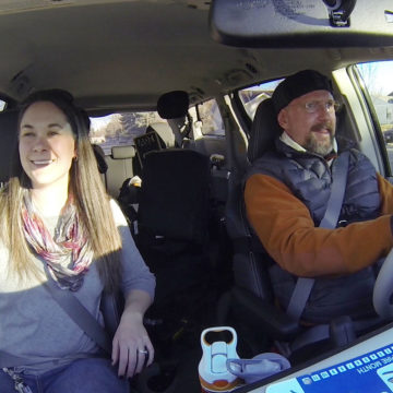 Craig Hospital Spinal Cord Injury Rehabilitation Patient Driving With The Adaptive Transportation Program