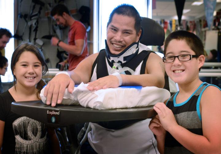 Craig Hospital Foundation Heros Russell Burke and Kids