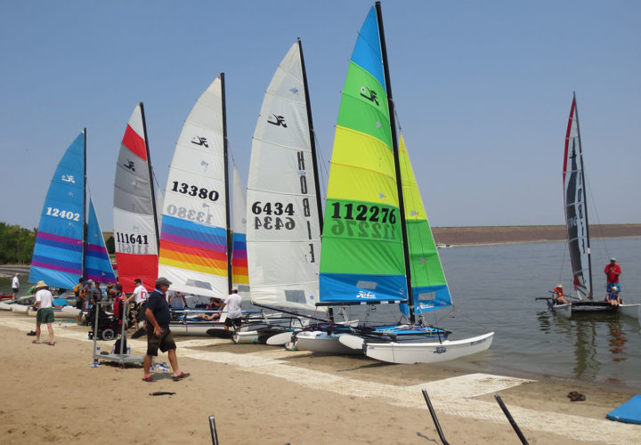 Hobie Day patient sailing outing through Therapeutic Recreation at Craig Hospital