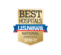 US News and Word Report | Craig Hospital Named Top 10 Rehabilitation Center consecutively since 1990